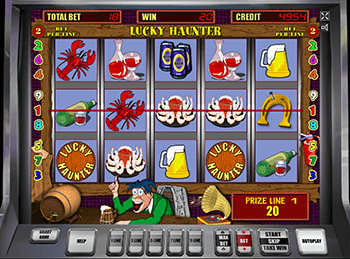 Играть в новые Lucky Haunter